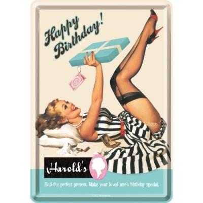 노스텔직아트[10186] Happy Birthday Harrold's