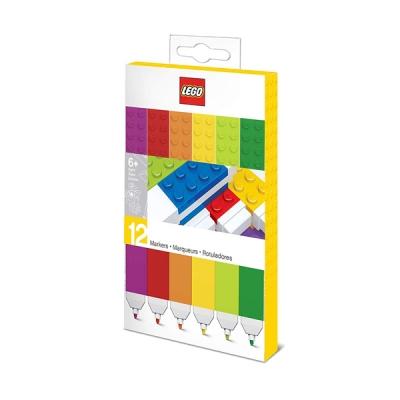 레고문구 마커 12색