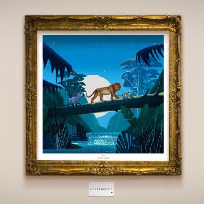 디즈니 인테리어 포스터 - 라이온킹 마스터피스 15종
