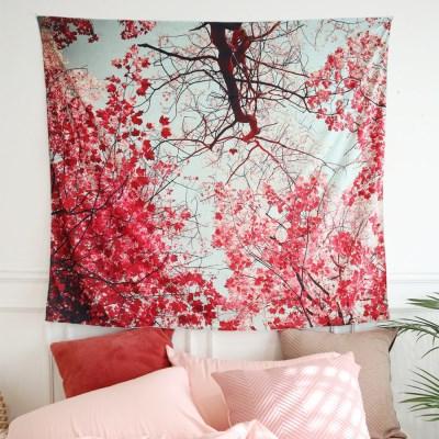매화나무 150x130cm 대형 패브릭포스터 태피스트리