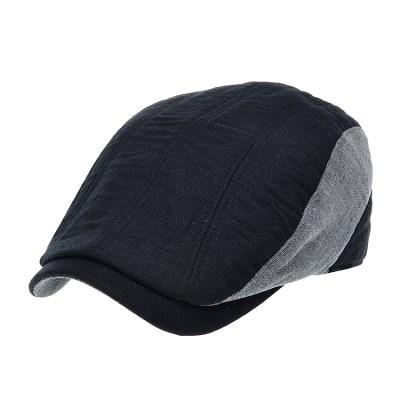 [더그레이]PMH37.투톤 마혼방 헌팅캡 남성 골프 모자