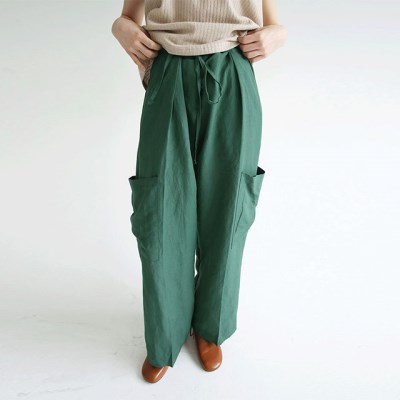 big pocket pintuck pants (3colors)_(1297724)