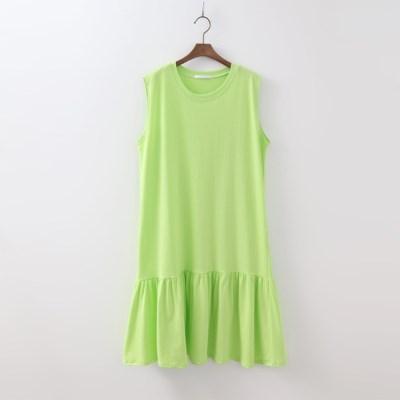 Cotton Sleeveless Dress