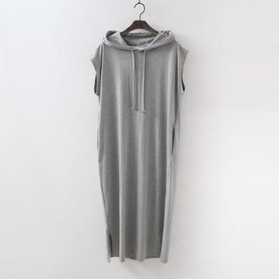 Hoody Long Dress - 민소매