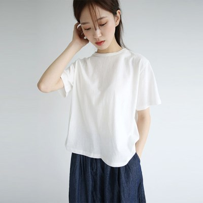 basic cotton tee (4colors)_(1297905)
