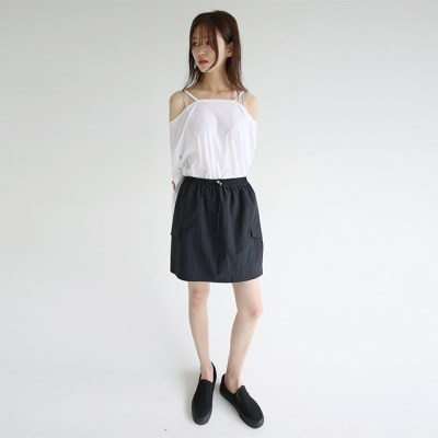 easy pocket detail mini skirts (2colors)_(1297902)