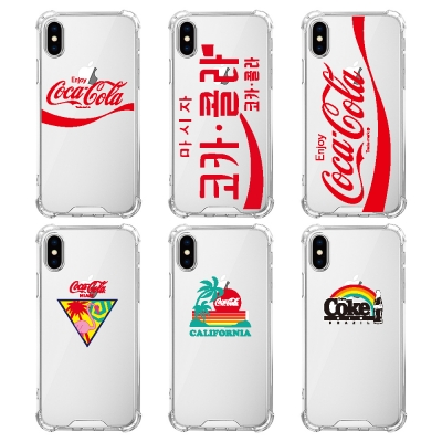 스키누 x Coca-Cola 2019 투명케이스