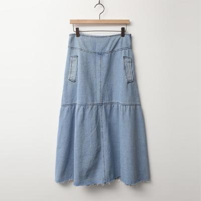 Janet Denim Long Skirt