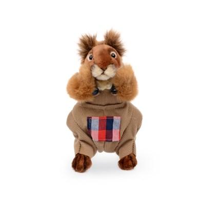 7524 옷입은 다람쥐인형(갈색) 25cm.L_(1386709)