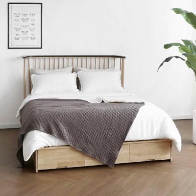 [하모니] L형 침대 서랍형 SS/Q/K_(1343717)