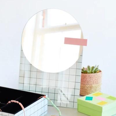 [도이] 더 풀 화장대 탁상 거울 테이블 미러_(1716161)