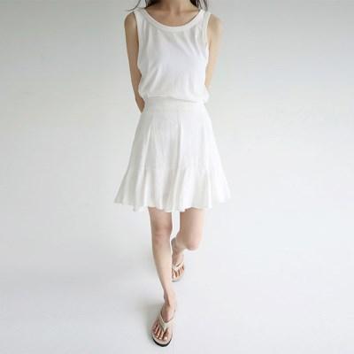 seunsual crease mini skirts_(1298327)