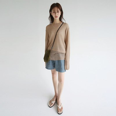 girlish fit loose knit (4colors)_(1298322)