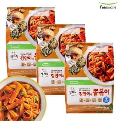 [풀무원]김만이네 쫄볶이 (3~4인)x3봉