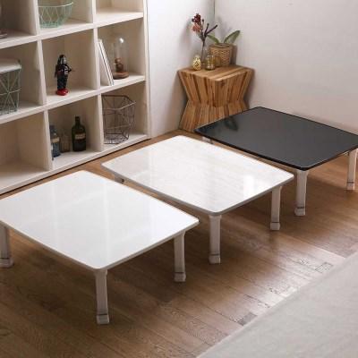 LPM 테두리 몰딩 심플사각 테이블 좌식 밥상 800 높이조절가능