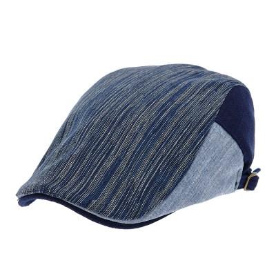 [더그레이]PMH51.마혼방 ST 배색 헌팅캡 남성 모자