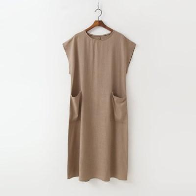 Linen Pocket Long Dress