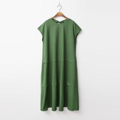 Linen Cancan Long Dress