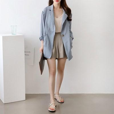 Linen Oversized Jacket