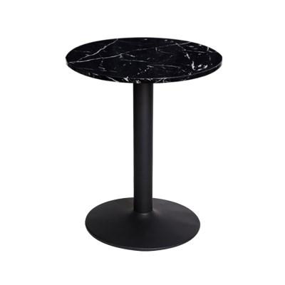 [가구느낌] 인조대리석-600원형-3인치 티테이블 카페_(967212)