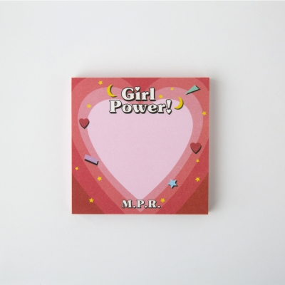 Girl Power Memo Pad