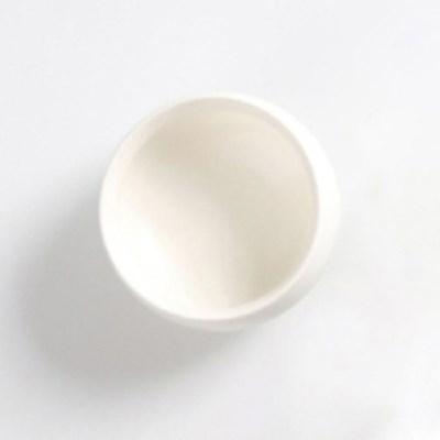 CJ190109-3 순백 도자기 무광 찻잔 40ml