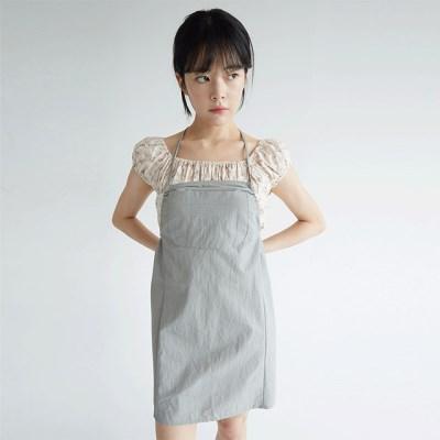 apron crispy texture mini slip dress (2colors)_(1299633)