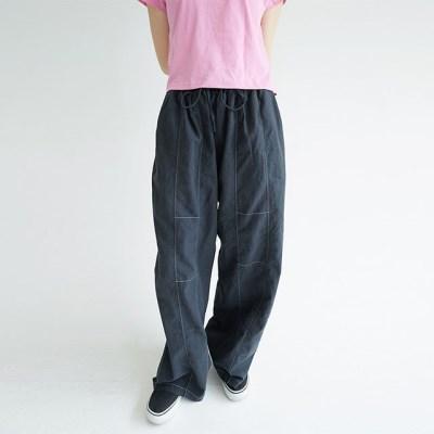 nature cozy linen baggy pants (3colors)_(1299632)