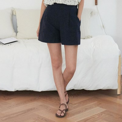 colorful linen short pants_(1299242)