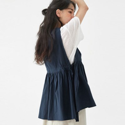 daily my ribbon linen vest_(1299240)