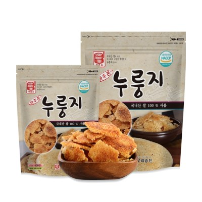 [1KG 1+1 행사]아주존 국산쌀 100% 누룽지 총 2KG_(876593)
