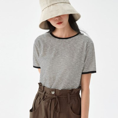 cleo basic stripe T_(1302358)