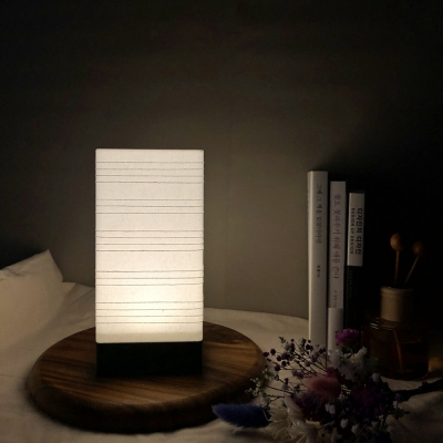 줄무늬 무드등 LED 건전지형 취침등