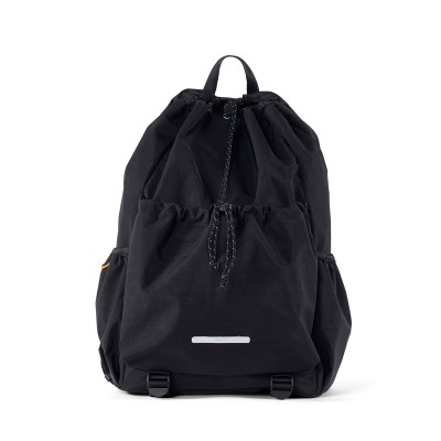 STRING BACKPACK 750 W.NYLON BLACK_(702001)