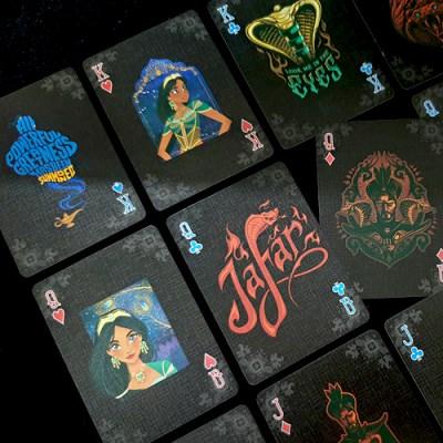 JLCC 디즈니 알라딘 캐릭터 덱 플레잉 카드