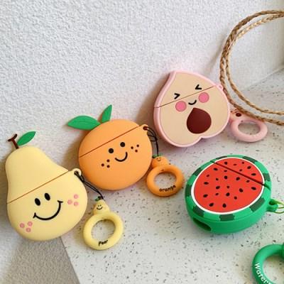 과일 에어팟 케이스