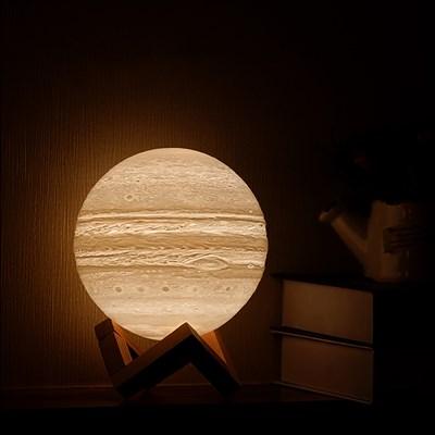 3D입체 주피터 달 무드등 LED 조명 특이한 캐릭터 국민수유등