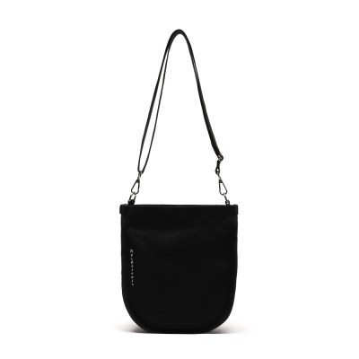 [로아드로아] HALF MOON MINI CROSS BAG (BLACK)_(1097312)