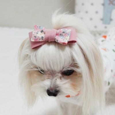 애슐리 핸드메이드 강아지핀