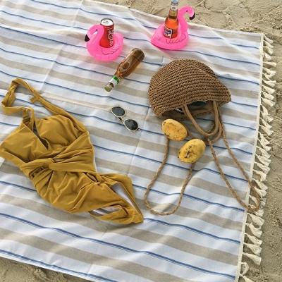 피크닉매트 - Beach Picnic_Blue