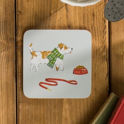 [울스터위버스] 강아지산책 컵받침