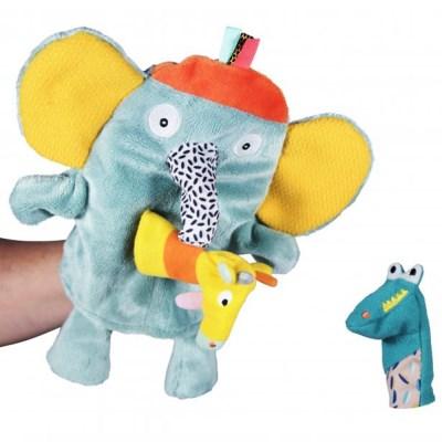 [에불로보] 프랑스 국민 애착인형 코끼리와 두 손가락
