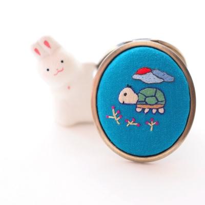 [텐텐클래스] (사당,강남,안산,산본) 꽃실자수 거북이 원데이클래스