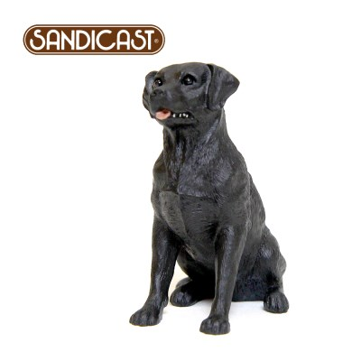래브라도 리트리버 LABRADOR RETRIEVER (SITTING) BLACK SS13011