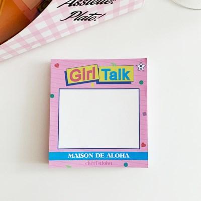 Girl Talk Memopad 걸톡메모패드