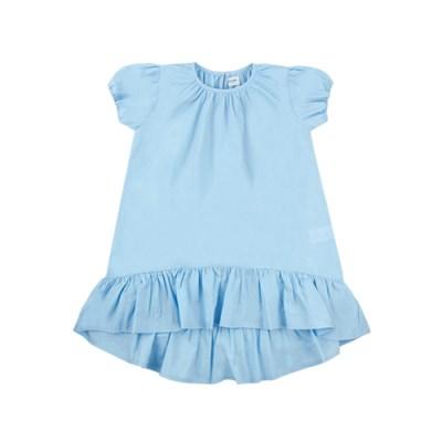 [리틀비티] 언발란스 프릴 드레스 (스카이 블루)_(1050353)
