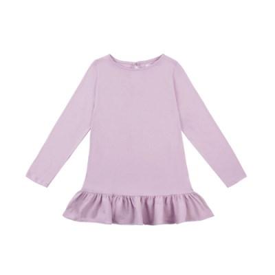 [리틀비티] 코튼 프릴 드레스 (라이트 퍼플)_(1050346)
