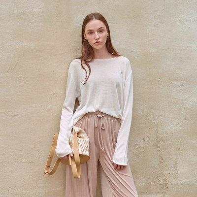 LOOSE SUMMER KNIT_IVORY