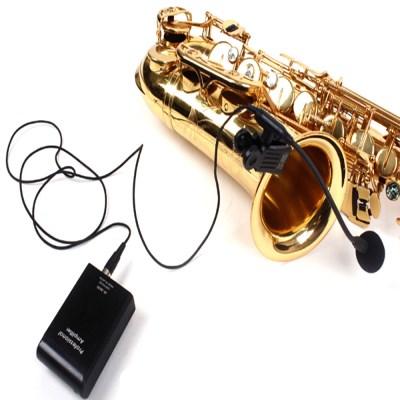 유선핀마이크 색소폰 핀마이크 트럼펫 트럼본 무배_(1351431)