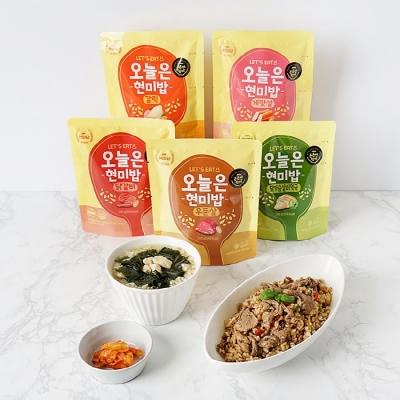 [다신샵] 든든한 한끼 오늘은 현미밥 10팩 (5종X2)